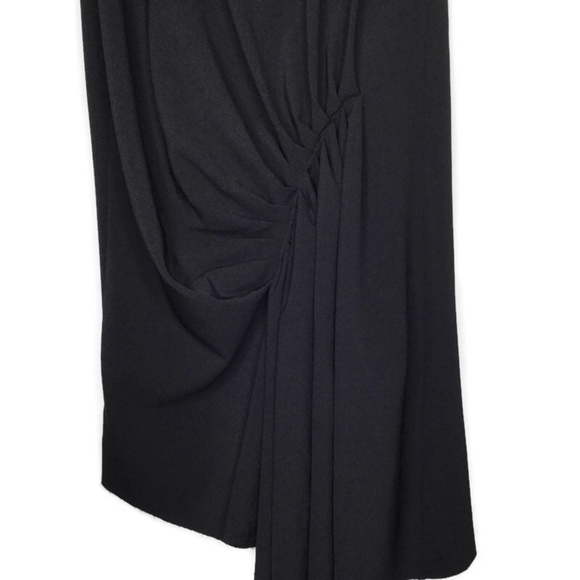 Topshop Dresses & Skirts - Topshop Asymmetric Ruched Skirt Size 8